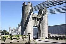 SH7877 : Conwy Suspension Bridge by Jeff Buck