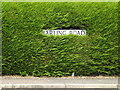 TM0383 : Harling Road sign by Adrian Cable