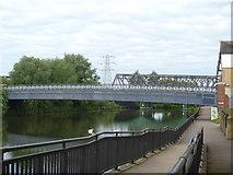 TL1998 : Peterborough's bridges [2] by Michael Dibb
