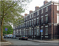 SJ3589 : 24-34 Sandon Street, Liverpool by Stephen Richards