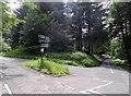NO3658 : Crossroads near Pearsie by Stanley Howe