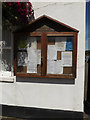 TF2410 : Crowland Parish Notice Board on Crowland Parish Room by Adrian Cable