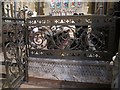 SE0926 : All Souls, Haley Hill, Halifax: iron screen by Stephen Craven
