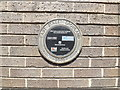TF2410 : Plaque on Crowland Public Library by Adrian Cable