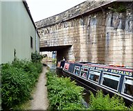 SJ9398 : Narrow Canal by Gerald England