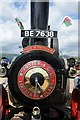 SO8040 : Detail of a traction engine, Welland Steam Rally by Philip Halling