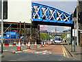 NS5864 : Gorbals Street railway bridge renovation by Thomas Nugent