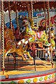 SO8040 : Gallopers on a carousel by Philip Halling