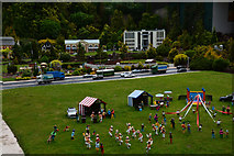 SX9265 : Torquay : Babbacombe Model Village by Lewis Clarke