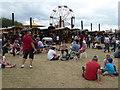 SO8040 : Welland Steam Rally - steam fairground by Chris Allen