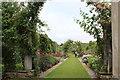 ST0972 : Herbaceous border, Dyffryn Gardens by M J Roscoe