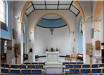 TQ0471 : Our Lady of the Rosary, Staines - East end by John Salmon