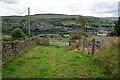 SE0412 : Kirklees Way at Huck Hill Farm by Ian S