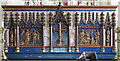 TL6860 : St Mary & the Holy Host of Heaven, Cheveley - Reredos by John Salmon