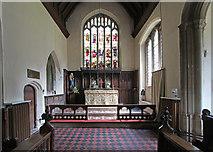 TL5646 : St Mary, Linton - Chancel by John Salmon