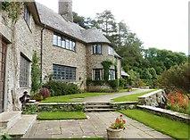 SX9050 : The Terrace at Coleton Fishacre House, Devon by Derek Voller