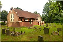 TL2518 : Church of St Michael and All Angels, Woolmer Green by Julian Osley