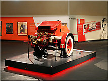 SJ8097 : Imperial War Museum North, Dennis Fire Fighting Trailer by David Dixon
