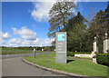 SP3152 : Entrance to Compton Verney House by Des Blenkinsopp
