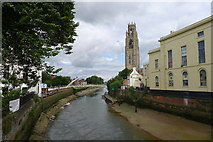 TF3244 : The River Witham, from Town Bridge, Boston by Tim Heaton