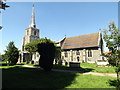 TM0688 : St.Mary's Church, Banham by Adrian Cable