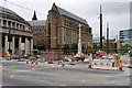 SJ8397 : Redevelopment Work at St Peter's Square, August 2016 by David Dixon