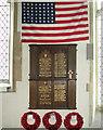 TM1192 : Memorial  in church by Evelyn Simak