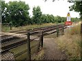 TR3549 : Pedestrian Level Crossing, near Walmer by Chris Whippet