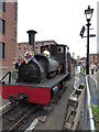 SJ3489 : Steam on the Dock - Albert Dock by Chris Allen