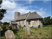 TM3898 : St Gregory, Heckingham: late July 2016 by Basher Eyre