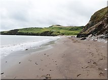 SX9253 : Man Sands Beach and the old coastguard's cottage on Crabrock Point by Derek Voller
