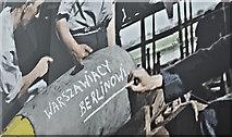 J3272 : Polish Air Forces (Polskie Siły Powietrzne) mural, Benburb Street, Belfast – August 2016(2) by Albert Bridge