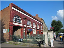 TQ2785 : Belsize Park tube station, Haverstock Hill, NW3 by Mike Quinn