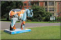 SK3487 : 41 'Donkeys in Elephant Land' - Weston Park by Dave Pickersgill