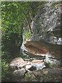 SD4674 : Rockfall at Woodwell by Karl and Ali