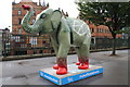 SK3587 : 52 'Peace Elephant' - Lady's Bridge by Dave Pickersgill
