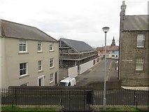 NT9953 : New office building viewed down Hatters Lane, Berwick-upon-Tweed by Graham Robson