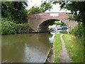 SP1974 : Bridge 69 by the Black Boy pub by Richard Law
