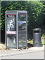NZ2179 : Public telephone box, Stannington by Graham Robson