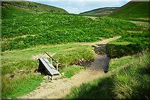 SK1695 : Cranberry Clough Ford by John Walton
