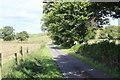 SO1802 : Lane from Hafodrisclawdd-fawr by M J Roscoe