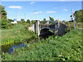 TL5874 : Clark's Drove crosses Soham Lode by Robin Webster