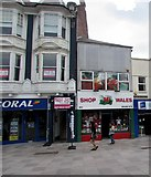 ST1876 : Shop Wales in Cardiff city centre by Jaggery
