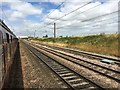 SE4180 : The East Coast Main Line south of Thirsk station by Graham Hogg