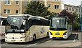 SX9164 : Coaches, Torquay coach station by Derek Harper