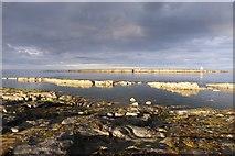 NU2520 : Shoreline and Little Carr by DS Pugh