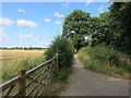 TG3111 : Path by Salhouse Road by Hugh Venables
