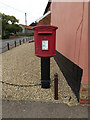 TL9874 : Post Office The Street Postbox by Adrian Cable