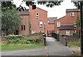 SK9135 : Middlemore Yard Vicinity, Grantham, Lincs. by David Hallam-Jones