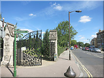 TQ3473 : Gates to Camberwell Old Cemetery by Des Blenkinsopp